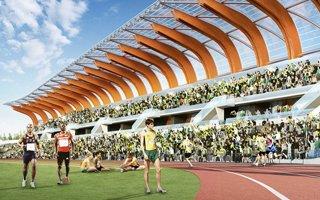 New design: The best athletics stadium worldwide?
