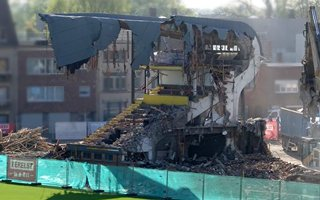 Belgium: Main stand in Mechelen gone in a week