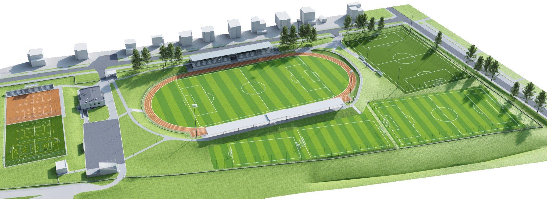Stadion w Busku-Zdroju