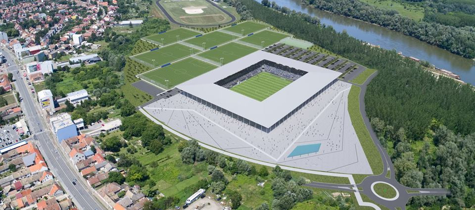 Stadion NK Osijek / Pampas