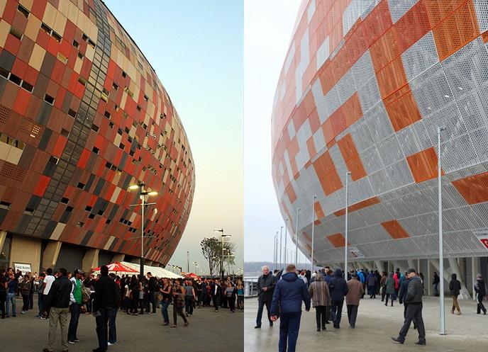 FNB Stadium vs. Mordovia Arena