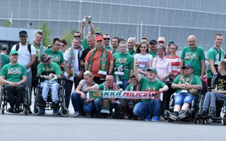 Poland: Disabled fans set new record