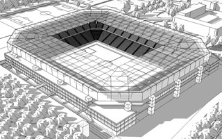 Berlin: Hertha corrects stadium plan
