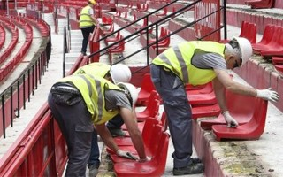 Sevilla: 1st out of 7 phases of renovation begins