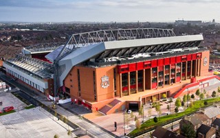 Liverpool: Anfield with 4G connectivity for fans
