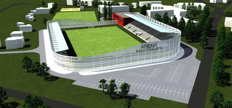 Stadion w Białej Podlaskiej