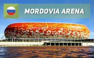 New stadium: Mordovia gets the spotlight