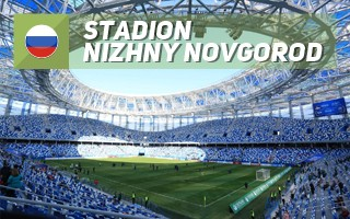 New stadium: The whirlpool of Nizhny Novgorod