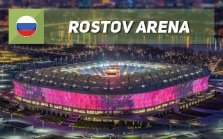 New stadium: Rostov Arena joins the pack