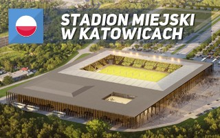New designs: The future municipal stadium of Katowice