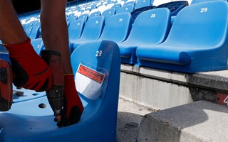 Madrid: Seats disappearing from Calderón