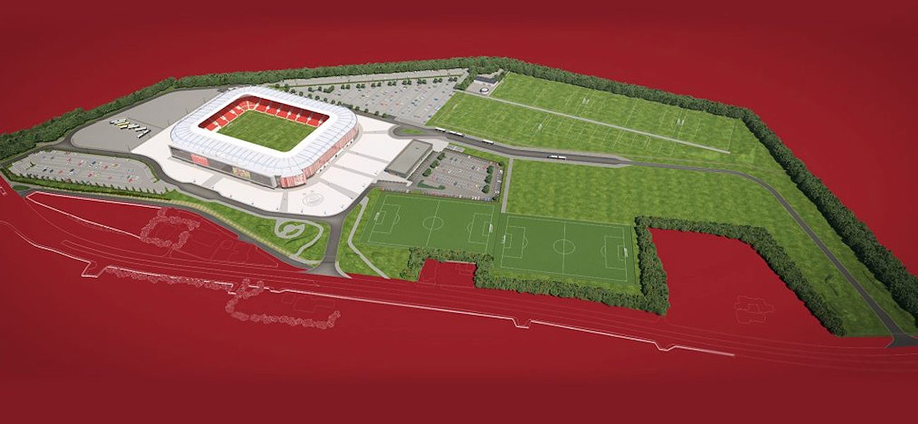 Aberdeen FC stadium in Kingsford