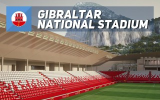 New design: Gibraltar's new football rock