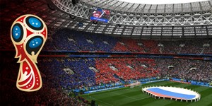 Russia 2018: Stadiums almost full, but no record