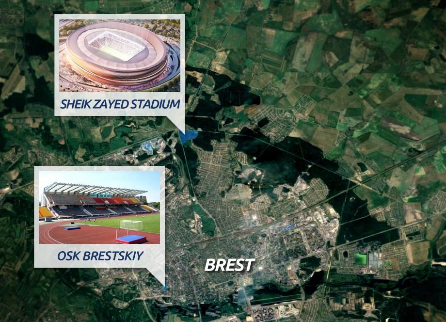 Brest stadium