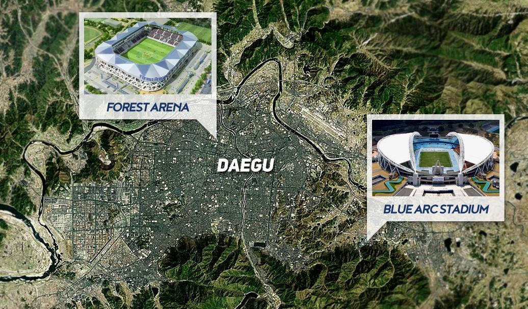 Daegu FC - Forest Arena