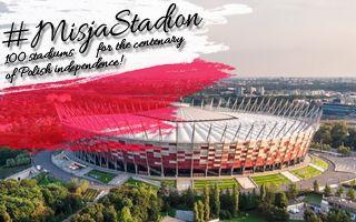 #MisjaStadion: 100 stadiums for centenary of independence!