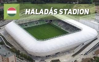 New stadium:  Haladás Sportkomplexum
