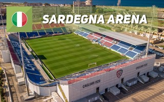 New stadium: The traveling home of Cagliari