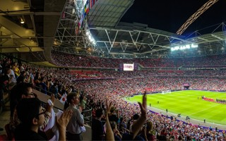 Betting services in UK stadiums