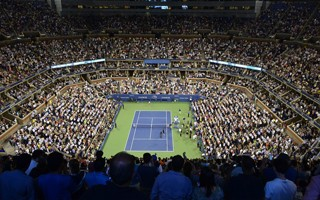 Comparing the big four global tennis stadiums