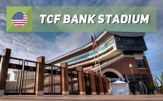 New stadium: TCF Bank Stadium