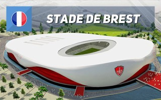 New design: The white-red pride of Brest
