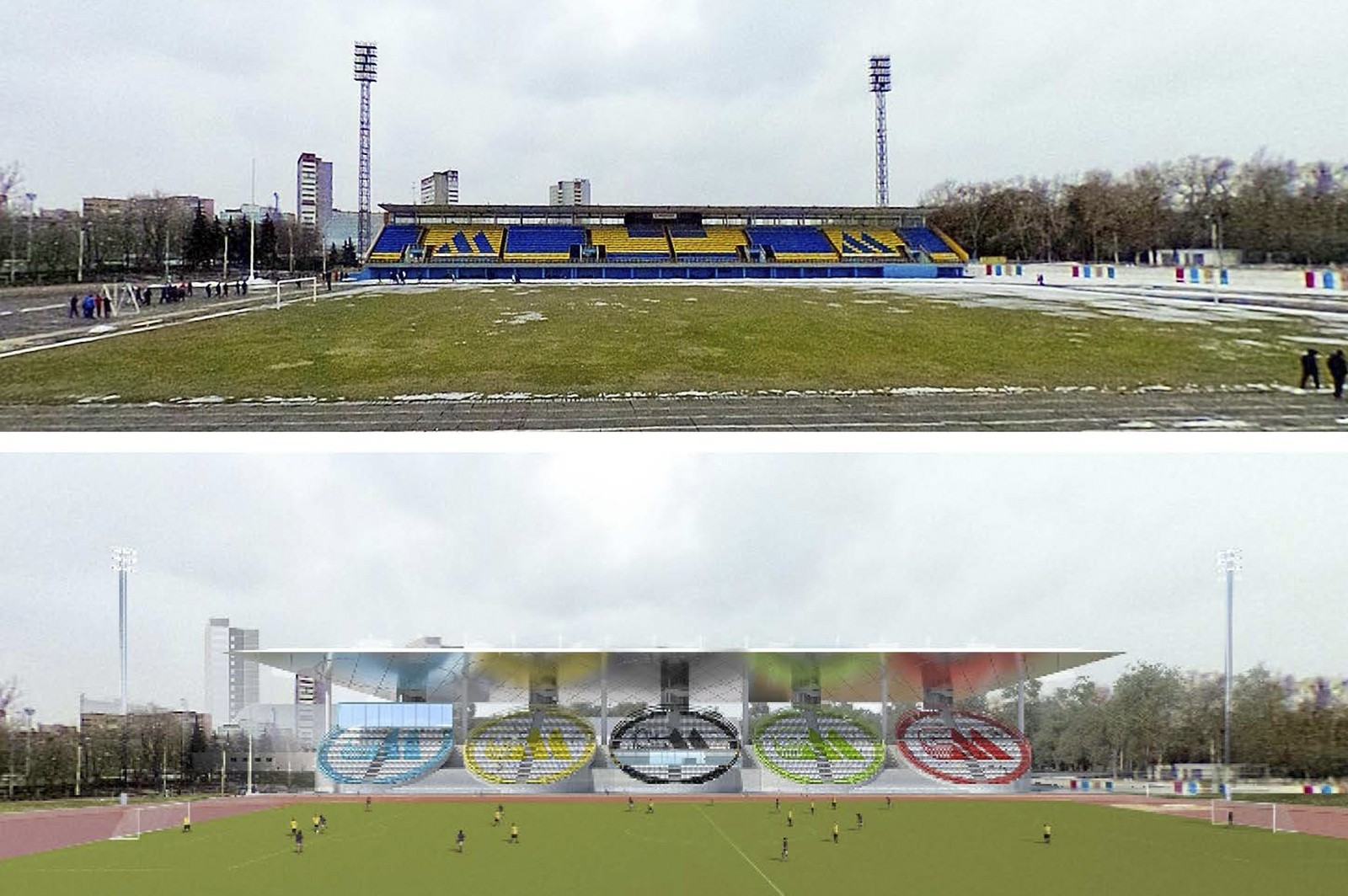 Stadion Moskvich