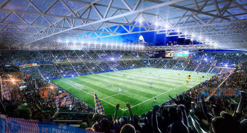 FC Cincinnati Stadium plan