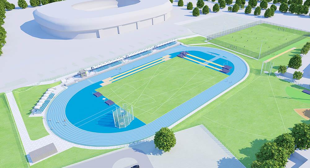 Stadion Lekkoatletyczny w Tychach