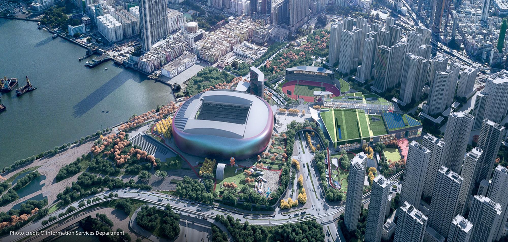 Kai Tak Sports Park Stadium