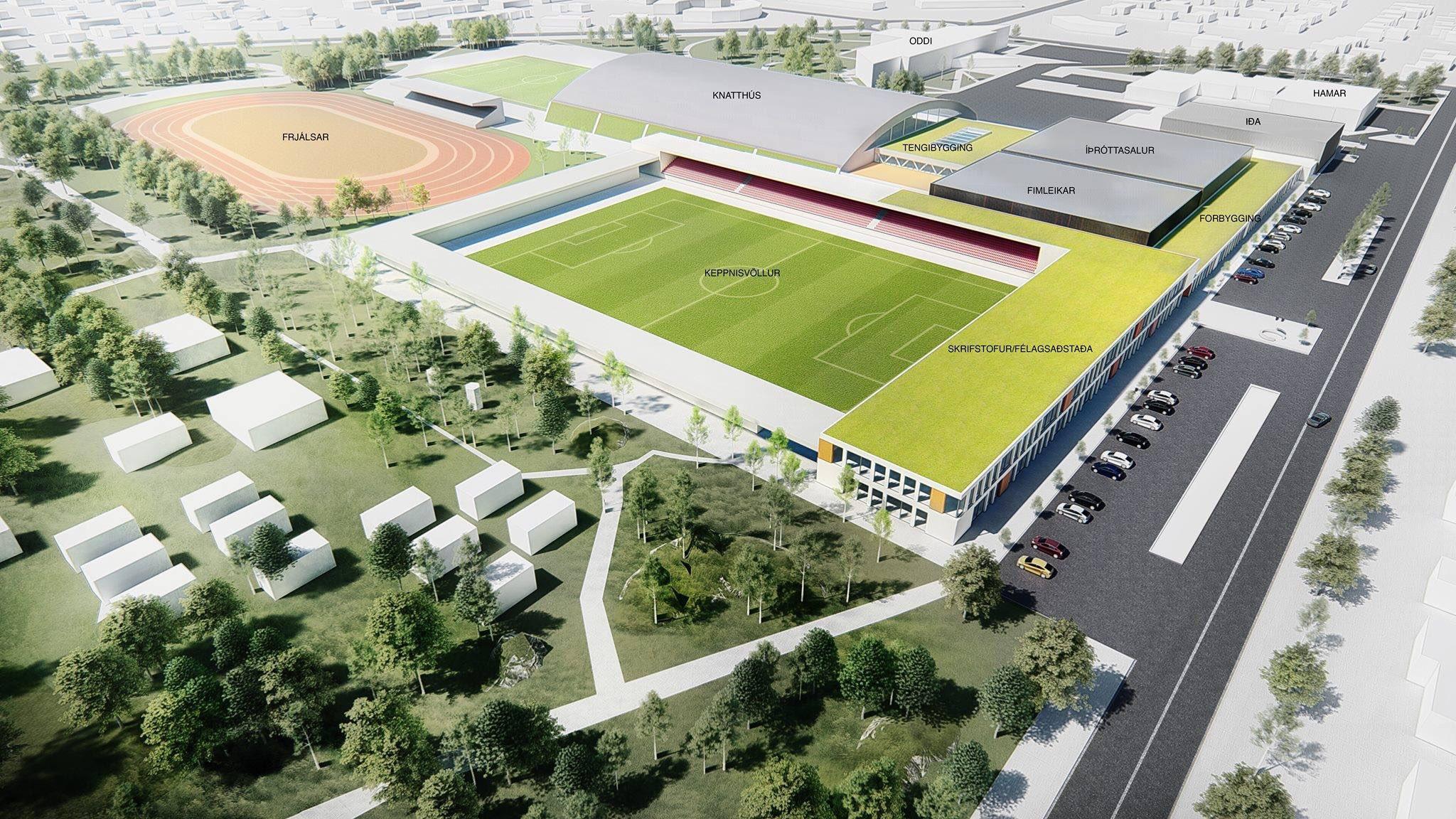 Selfoss sports complex