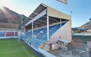 The smallest 4 top-flight stadiums across Europe