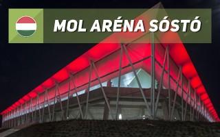 New stadium: MOL Aréna Sóstó
