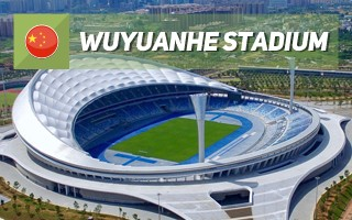 New stadium: The blue wave of Haikou