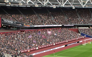 London: West Ham shows new straightened end zones