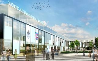 England: York stadium hit by delays