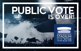 Stadium of the Year: Thank you for 35,330 votes!