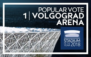 Stadium of the Year: Popular Vote – WINNER Volgograd Arena!