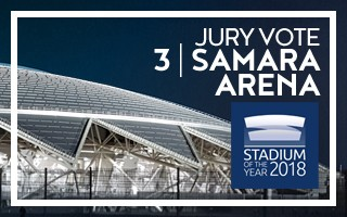 Stadium of the Year: Jury Vote – 3rd | Samara Arena