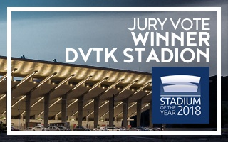 Stadium of the Year: Jury Award Winner – DVTK Stadion!