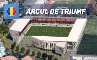 New design: In Bucharest, beside Arch of Triumph
