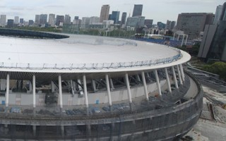 Tokyo 2020: Olympic Stadium's roof complete