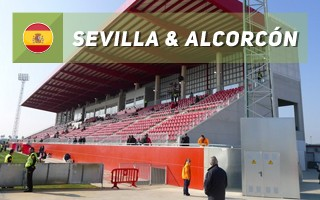 New stadiums: Sevilla & Alcorcón