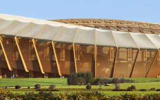 England: Wooden stadium a step from fruition