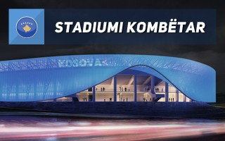 New design: Kosovo's first actual national stadium