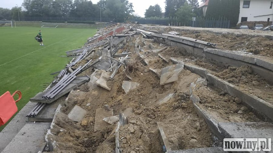 Stadion przy ul. Kościelnej w Jastrzębiu-Zdroju