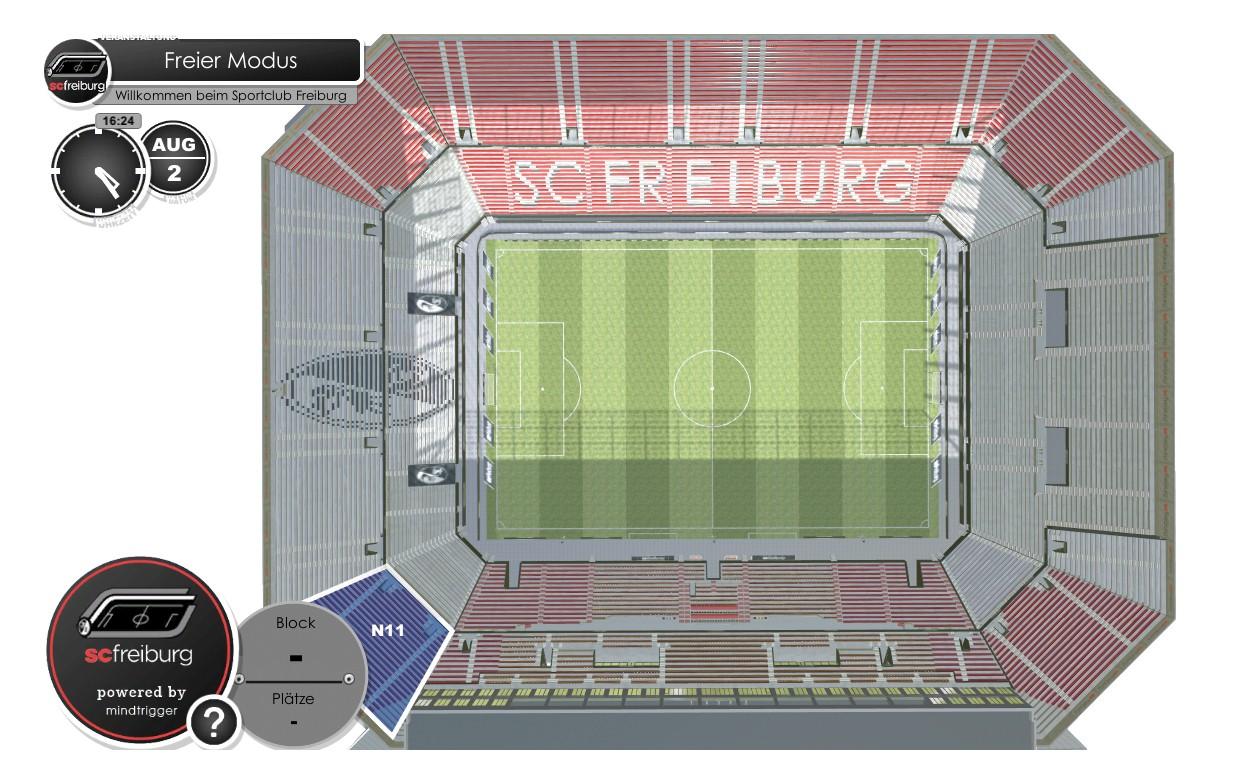 Wolfswinkel / SC Freiburg Stadion