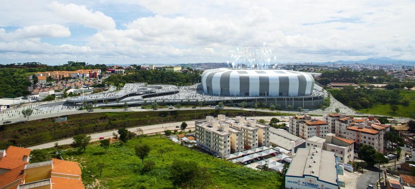 Arena MRV w Belo Horizonte