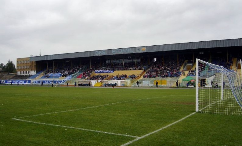Stadion Stomilu w Olsztynie